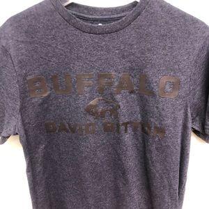 Buffalo David Bitton | Men's Blue T-Shirt | Size S